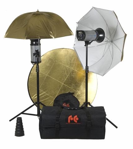 Комплект студийного света Fancier FAN022 Accessorized Kit with AC Slave