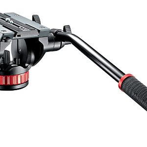 Видео голова Manfrotto MVH502A