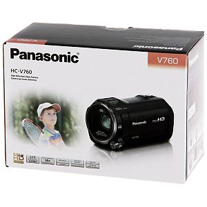 Видеокамера Flash HD Panasonic HC-V760 Black