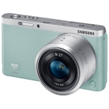 Фотоаппарат системный Samsung NX mini 9-27mm Green
