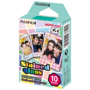 Картридж для фотоаппарата Fujifilm Instax Mini Stained glass 1 10/PK