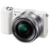 Фотоаппарат системный Sony Alpha A5000 Kit 16-50 White