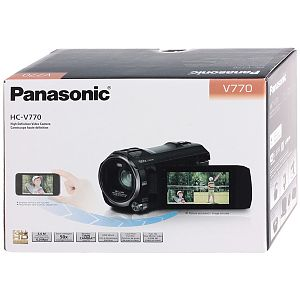 Видеокамера Flash HD Panasonic HC-V770 Black