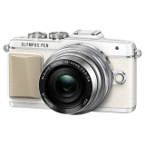 Фотоаппарат системный Olympus E-PL7 Pancake Zoom Kit White