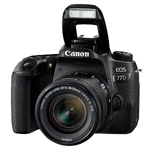 Фотоаппарат зеркальный Canon EOS 77D EF-S 18-55 IS STM Kit